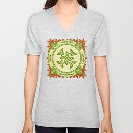 Circle of the Enlightened - Ivy Unisex V-Neck