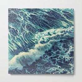 Every tide hath its ebb Metal Print
