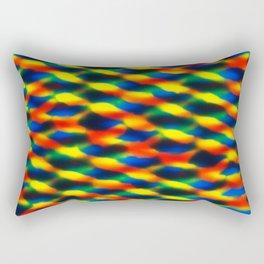 Melted #4 Rectangular Pillow