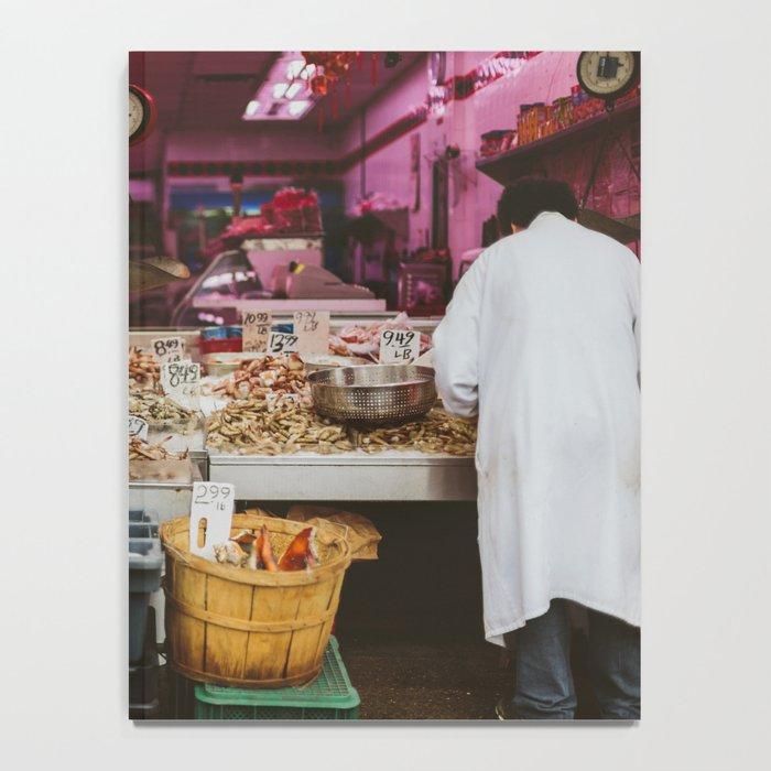 Chinatown Shellfish Notebook