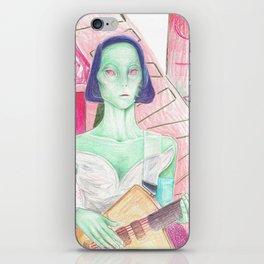 st. vincent / annie clark is an alien iPhone Skin