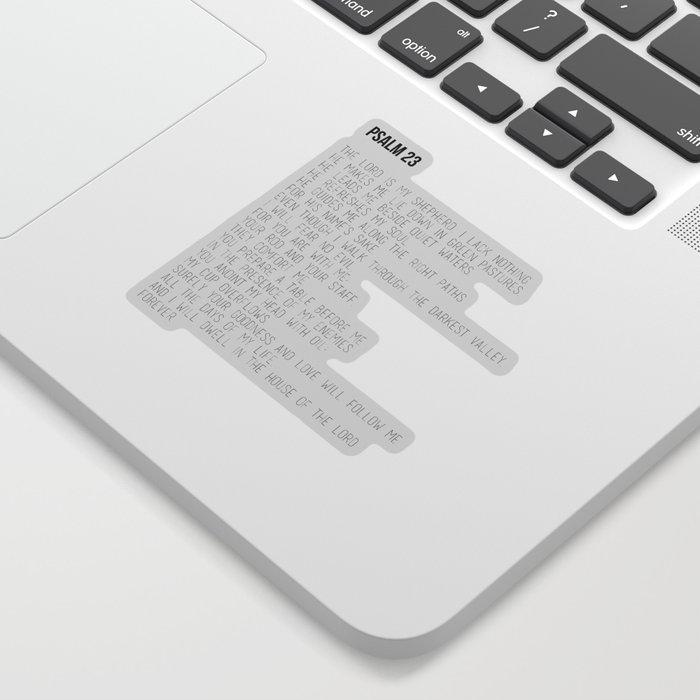 Psalm 23 #minimalist Sticker