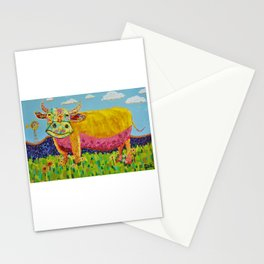 Happy Cow Stationery Cards