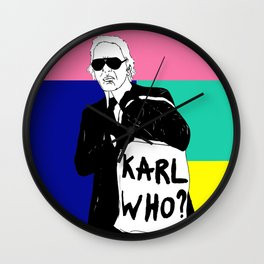 KARL WHO Wall Clock