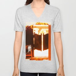 Door to the wild west Unisex V-Neck