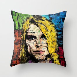 Nevermind Kurt  Throw Pillow