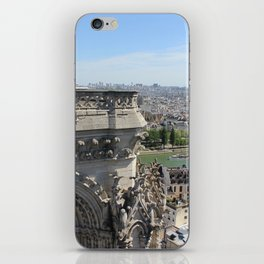 Notre Dame Cathedral & Seine River iPhone Skin