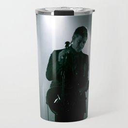 Paul Banks / Interpol at Terminal 5 New York City B&W Travel Mug