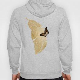 Butterfly & Palm Hoody