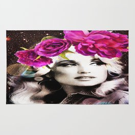 Holy Dolly (dolly parton) Rug