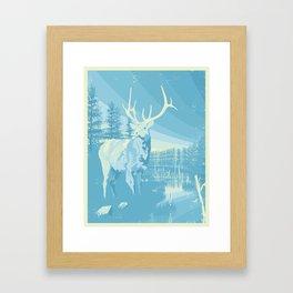 Cottage #2 - Elk Framed Art Print