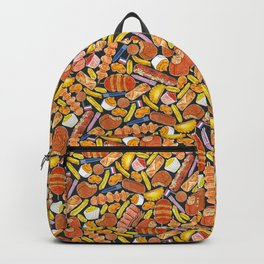 Ode to the Dutch Snacks by Veronique de Jong Backpack