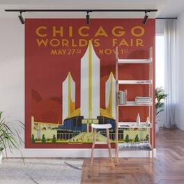 1933 Chicago World's Fair Wall Mural