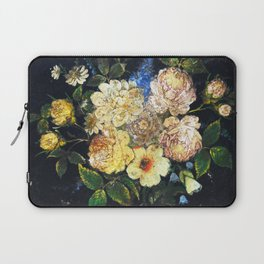 Vintage Flowers 2 Laptop Sleeve