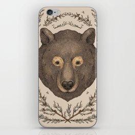 The Bear and Cedar iPhone Skin