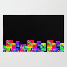 Rainbow Patterns Rug