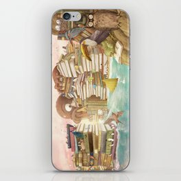 The Library Islands iPhone Skin