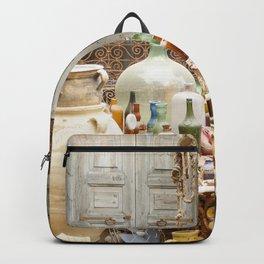 Market Djerba Tunisia Backpack