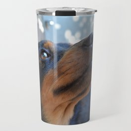 Chalie or Charly is one beatiful dog Travel Mug