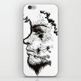 Bearded Lady iPhone Skin