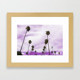 Purple Skies Framed Art Print