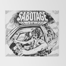 Sabotage Throw Blanket