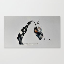 Perception of thought Canvas Print