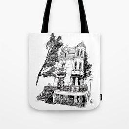 Fantasy of Saint Denis and Roy Tote Bag