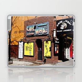 Cafe Wha? Greenwich Village NYC Laptop & iPad Skin