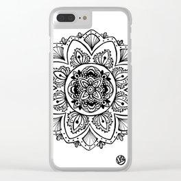 Dream Mandala Clear iPhone Case