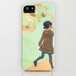 Fragile Dreams iPhone Case