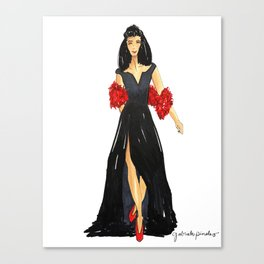 Fancy Holiday Canvas Print