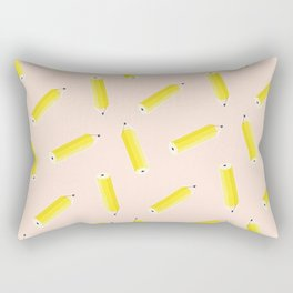 Pencil pattern Rectangular Pillow