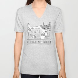 Weapons Of Mass Creation - Sewing Unisex V-Neck