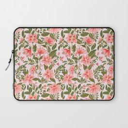Pink Botanical Dream Pattern Laptop Sleeve