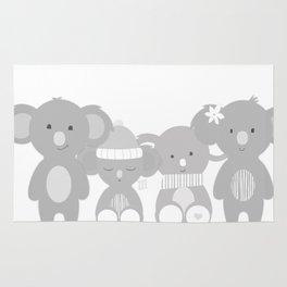 Koala bears Rug
