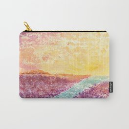 Magical Sunset Watercolor Illustration Carry-All Pouch