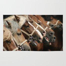Heavy horses Rug