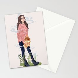 PomPom Queen Stationery Cards
