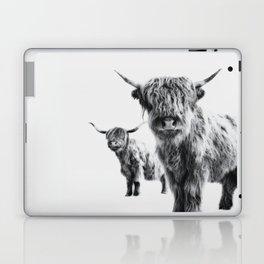 HIGHLAND COW - LULU & SARA Laptop & iPad Skin