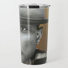 'Pharrell In Gold' Travel Mug