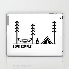 Live Simple Laptop & iPad Skin