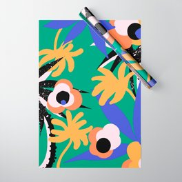 Ethnic tropical plant Wrapping Paper