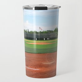 Play Ball! - Home Plate Travel Mug