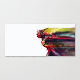 Reverse Flash Canvas Print