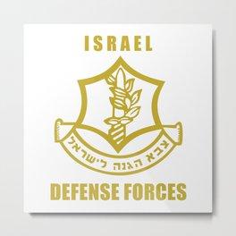 IDF  Metal Print