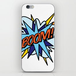 Comic Book Pop Art BOOM iPhone Skin