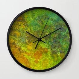 Abstract Sunlight Wall Clock