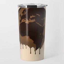 The Earth Global Chocolate Caramel Sweetness Praline Delicious Travel Mug