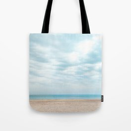 calm cloudy day Tote Bag